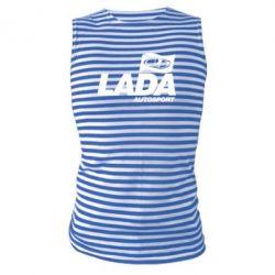 Майка-тельняшка Lada Autosport - FatLine