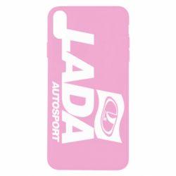 Чехол для iPhone X/Xs Lada Autosport