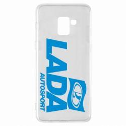 Чехол для Samsung A8+ 2018 Lada Autosport