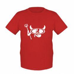 Детская футболка Лада чертик