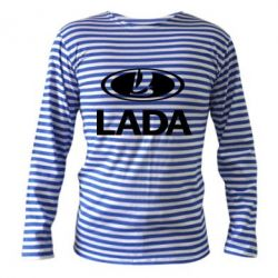 Тельняшка с длинным рукавом Lada logo