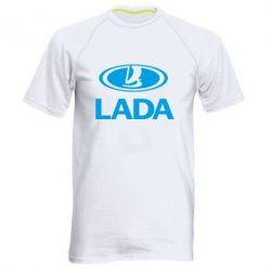 Мужская спортивная футболка Lada logo