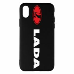 Чохол для iPhone X/Xs Lada