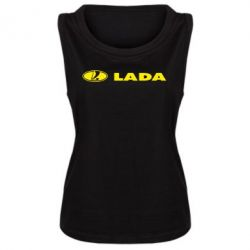 Женская майка Lada - FatLine