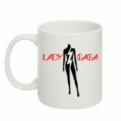 Кружка 320ml Lady Gaga Body - FatLine