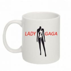 Кружка 320ml Lady GAGA - FatLine