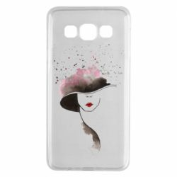 Чехол для Samsung A3 2015 Lady in a hat
