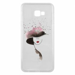 Чехол для Samsung J4 Plus 2018 Lady in a hat