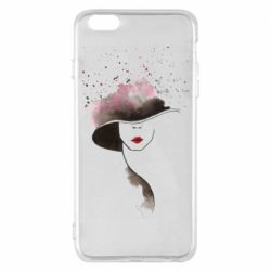 Чехол для iPhone 6 Plus/6S Plus Lady in a hat