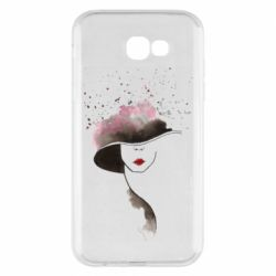Чехол для Samsung A7 2017 Lady in a hat