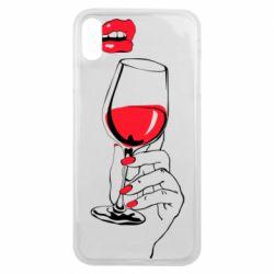 Чохол для iPhone Xs Max Lady is drinking