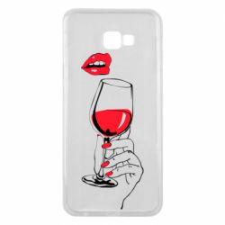 Чохол для Samsung J4 Plus 2018 Lady is drinking