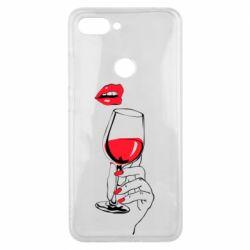 Чохол для Xiaomi Mi8 Lite Lady is drinking