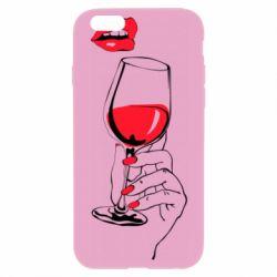 Чохол для iPhone 6/6S Lady is drinking