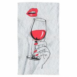 Рушник Lady is drinking