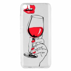 Чохол для Xiaomi Mi5/Mi5 Pro Lady is drinking