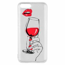 Чохол для Xiaomi Mi6 Lady is drinking