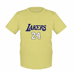 Детская футболка Lakers 24