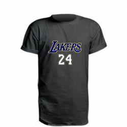 Удлиненная футболка Lakers 24
