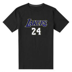 Мужская стрейчевая футболка Lakers 24