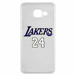 Чехол для Samsung A3 2016 Lakers 24