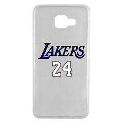 Чехол для Samsung A7 2016 Lakers 24