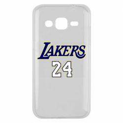 Чехол для Samsung J2 2015 Lakers 24
