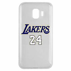 Чехол для Samsung J2 2018 Lakers 24