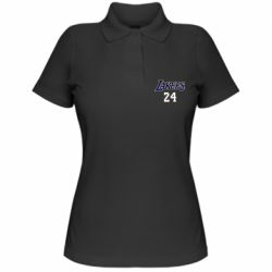 Женская футболка поло Lakers 24