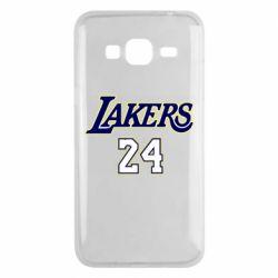 Чехол для Samsung J3 2016 Lakers 24
