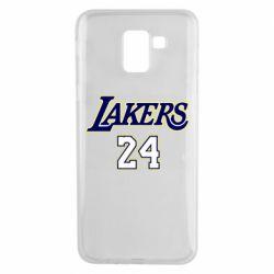 Чехол для Samsung J6 Lakers 24