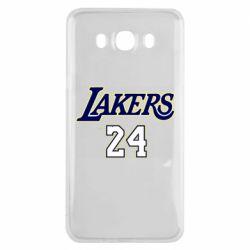 Чехол для Samsung J7 2016 Lakers 24