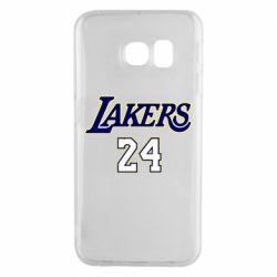Чехол для Samsung S6 EDGE Lakers 24