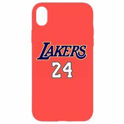 Чехол для iPhone XR Lakers 24