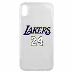 Чехол для iPhone Xs Max Lakers 24