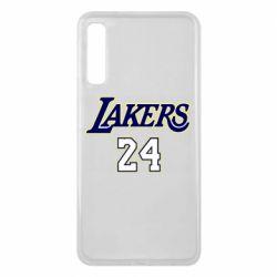 Чехол для Samsung A7 2018 Lakers 24