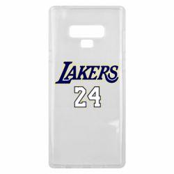 Чехол для Samsung Note 9 Lakers 24