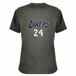 Камуфляжная футболка Lakers 24
