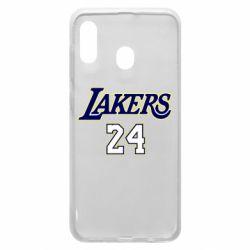 Чехол для Samsung A20 Lakers 24