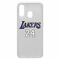Чехол для Samsung A40 Lakers 24