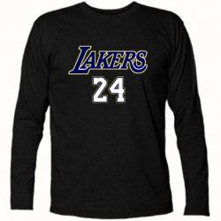 Футболка с длинным рукавом Lakers 24