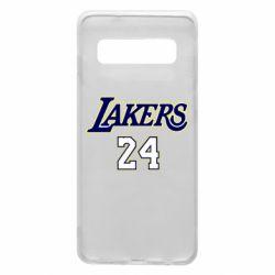 Чехол для Samsung S10 Lakers 24