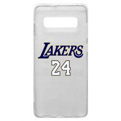 Чехол для Samsung S10+ Lakers 24