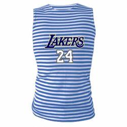 Майка-тельняшка Lakers 24
