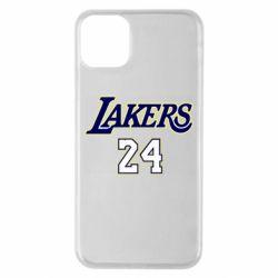 Чехол для iPhone 11 Pro Max Lakers 24