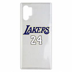 Чехол для Samsung Note 10 Plus Lakers 24
