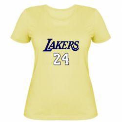 Женская футболка Lakers 24