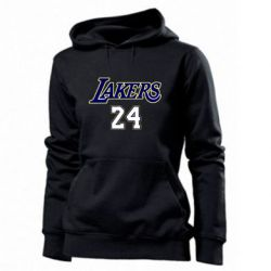 Женская толстовка Lakers 24