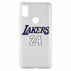 Чехол для Xiaomi Redmi S2 Lakers 24