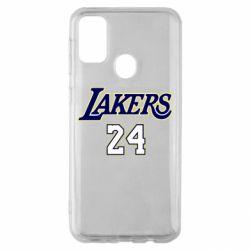 Чехол для Samsung M30s Lakers 24